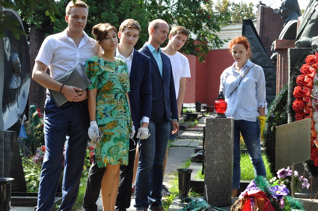 Мемориально - патронатная акция Анны Даниловой: Помним! Гордимся!